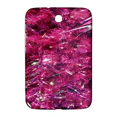 Festive Hot Pink Glitter Merry Christmas Tree  Samsung Galaxy Note 8 0 N5100 Hardshell Case  by yoursparklingshop