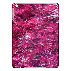 Festive Hot Pink Glitter Merry Christmas Tree  Ipad Air Hardshell Cases by yoursparklingshop