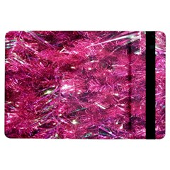 Festive Hot Pink Glitter Merry Christmas Tree  Ipad Air Flip by yoursparklingshop