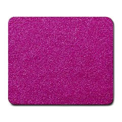Metallic Pink Glitter Texture Large Mousepads by yoursparklingshop