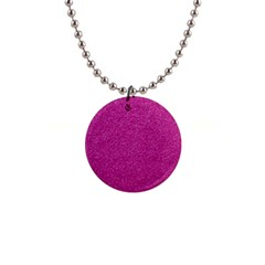 Metallic Pink Glitter Texture Button Necklaces by yoursparklingshop