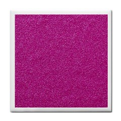 Metallic Pink Glitter Texture Face Towel by yoursparklingshop