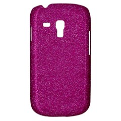 Metallic Pink Glitter Texture Samsung Galaxy S3 Mini I8190 Hardshell Case by yoursparklingshop
