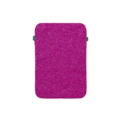 Metallic Pink Glitter Texture Apple Ipad Mini Protective Soft Cases by yoursparklingshop