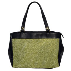 Festive White Gold Glitter Texture Office Handbags by yoursparklingshop