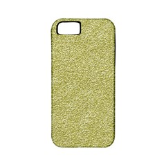 Festive White Gold Glitter Texture Apple Iphone 5 Classic Hardshell Case (pc+silicone) by yoursparklingshop