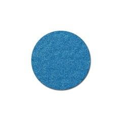 Festive Blue Glitter Texture Golf Ball Marker (4 Pack) by yoursparklingshop