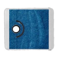 Festive Blue Glitter Texture Samsung Galaxy S  Iii Flip 360 Case by yoursparklingshop
