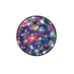 Starlight Shiny Glitter Stars Hat Clip Ball Marker (4 Pack) by yoursparklingshop