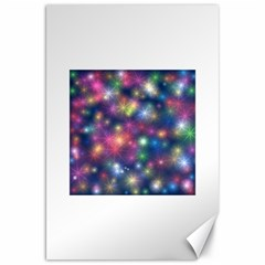 Starlight Shiny Glitter Stars Canvas 20  X 30   by yoursparklingshop