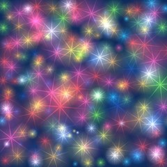 Starlight Shiny Glitter Stars Magic Photo Cubes by yoursparklingshop