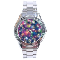 Starlight Shiny Glitter Stars Stainless Steel Analogue Watch by yoursparklingshop