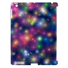 Starlight Shiny Glitter Stars Apple Ipad 3/4 Hardshell Case (compatible With Smart Cover) by yoursparklingshop