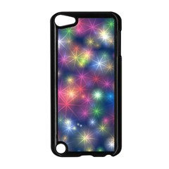 Starlight Shiny Glitter Stars Apple Ipod Touch 5 Case (black) by yoursparklingshop