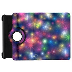 Starlight Shiny Glitter Stars Kindle Fire Hd Flip 360 Case by yoursparklingshop