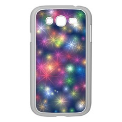 Starlight Shiny Glitter Stars Samsung Galaxy Grand Duos I9082 Case (white) by yoursparklingshop