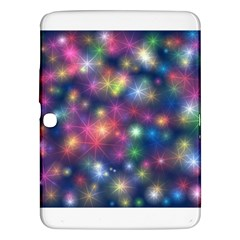 Starlight Shiny Glitter Stars Samsung Galaxy Tab 3 (10 1 ) P5200 Hardshell Case  by yoursparklingshop