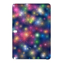 Starlight Shiny Glitter Stars Samsung Galaxy Tab Pro 10 1 Hardshell Case by yoursparklingshop