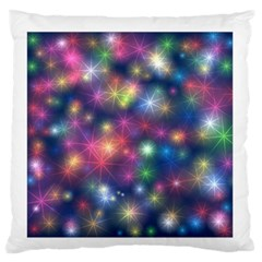 Starlight Shiny Glitter Stars Standard Flano Cushion Case (two Sides) by yoursparklingshop