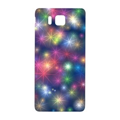 Starlight Shiny Glitter Stars Samsung Galaxy Alpha Hardshell Back Case by yoursparklingshop