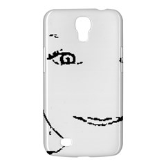 Portrait Black And White Girl Samsung Galaxy Mega 6 3  I9200 Hardshell Case by yoursparklingshop