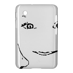 Portrait Black And White Girl Samsung Galaxy Tab 2 (7 ) P3100 Hardshell Case  by yoursparklingshop