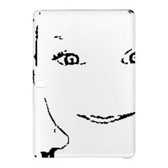 Portrait Black And White Girl Samsung Galaxy Tab Pro 12 2 Hardshell Case by yoursparklingshop