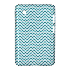 Blue White Chevron Samsung Galaxy Tab 2 (7 ) P3100 Hardshell Case  by yoursparklingshop
