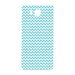 Blue White Chevron Samsung Galaxy Alpha Hardshell Back Case by yoursparklingshop