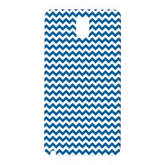 Dark Blue White Chevron  Samsung Galaxy Note 3 N9005 Hardshell Back Case by yoursparklingshop