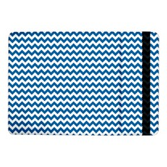 Dark Blue White Chevron  Samsung Galaxy Tab Pro 10 1  Flip Case by yoursparklingshop