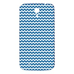 Dark Blue White Chevron  Samsung Galaxy Mega I9200 Hardshell Back Case by yoursparklingshop