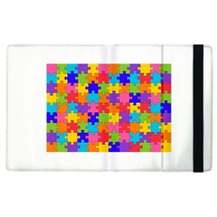 Funny Colorful Puzzle Pieces Apple Ipad 3/4 Flip Case by yoursparklingshop