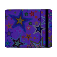 Purple Christmas Party Stars Samsung Galaxy Tab Pro 8.4  Flip Case by yoursparklingshop