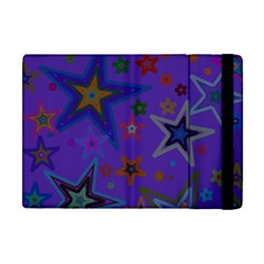 Purple Christmas Party Stars iPad Mini 2 Flip Cases by yoursparklingshop