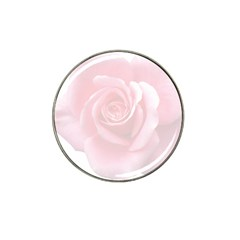 Pink White Love Rose Hat Clip Ball Marker (10 Pack) by yoursparklingshop