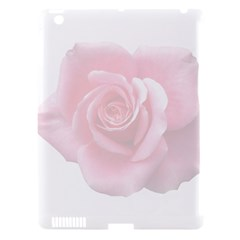 Pink White Love Rose Apple Ipad 3/4 Hardshell Case (compatible With Smart Cover) by yoursparklingshop