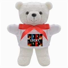 Ladies Lucky  Teddy Bear from ArtsNow.com Front
