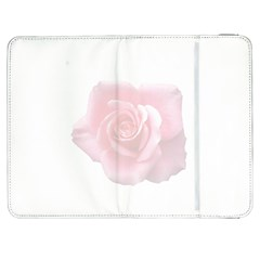 Pink White Love Rose Samsung Galaxy Tab 7  P1000 Flip Case by yoursparklingshop