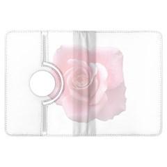 Pink White Love Rose Kindle Fire Hdx Flip 360 Case by yoursparklingshop