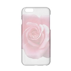 Pink White Love Rose Apple Iphone 6/6s Hardshell Case by yoursparklingshop
