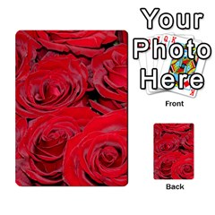 Red Love Roses Multi Purpose Cards (rectangle)  by yoursparklingshop