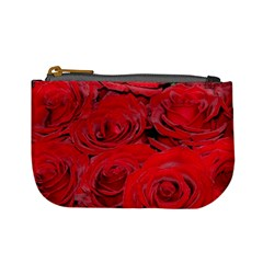 Red Love Roses Mini Coin Purses by yoursparklingshop