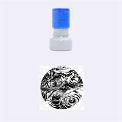 Red Love Roses Rubber Round Stamps (small)