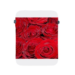 Red Love Roses Apple Ipad 2/3/4 Protective Soft Cases by yoursparklingshop
