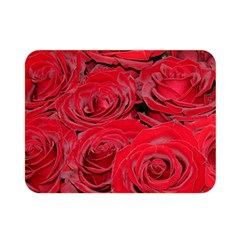 Red Love Roses Double Sided Flano Blanket (mini)  by yoursparklingshop