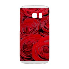 Red Love Roses Galaxy S6 Edge by yoursparklingshop