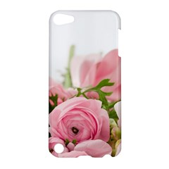 Romantic Pink Flowers Apple Ipod Touch 5 Hardshell Case by yoursparklingshop
