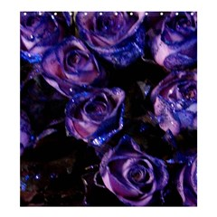 Purple Glitter Roses Valentine Love Shower Curtain 66  X 72  (large)  by yoursparklingshop