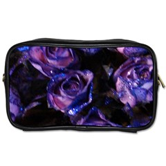 Purple Glitter Roses Valentine Love Toiletries Bags 2 Side by yoursparklingshop